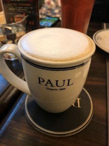 PAULレストラン台北 ドリンク