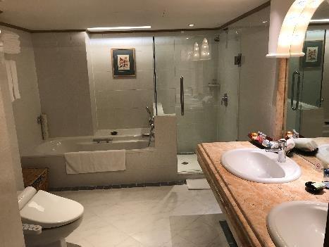 リビエラホテル デラックス・スイートルーム バストイレ