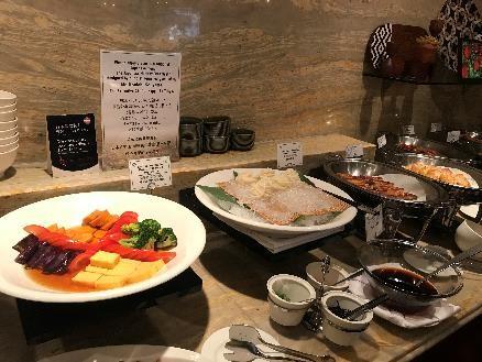 リビエラホテル 朝食 炒め物
