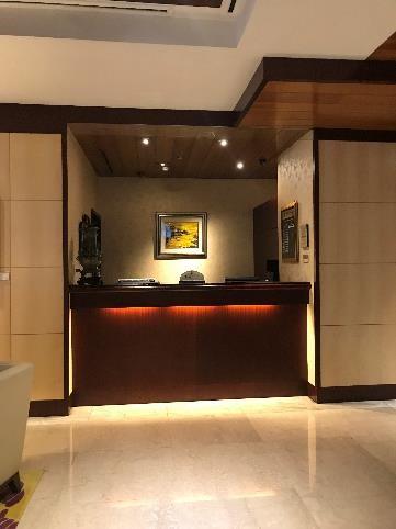 リビエラホテル チェックアウトカウンター