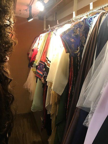 写真館「Gooday101 好日写真」(好日寫真) チャイナドレスもあり。