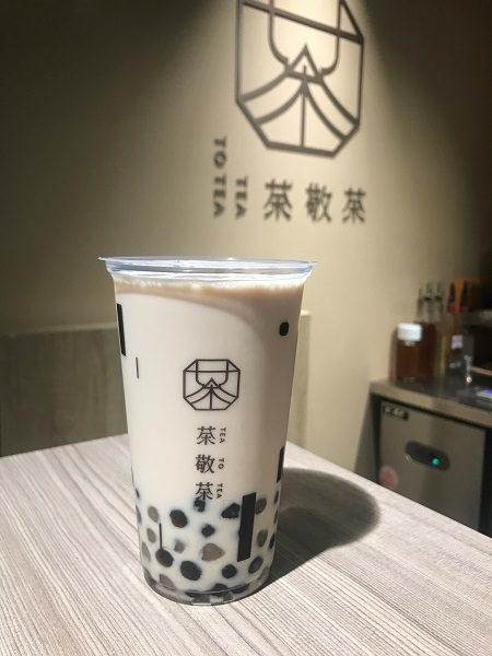 茶敬茶 Tea to tea タピオカミルクティー(絶対真珠奶茶) 60元