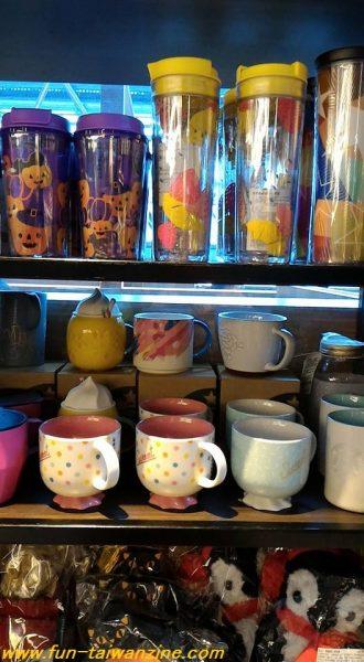タンブラーとマグカップ