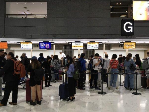 タイガーエア台湾は成田空港の第2ターミナルです。