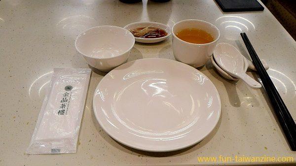 金品茶樓 食器セット