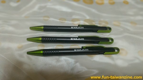 エバー航空のボールペン