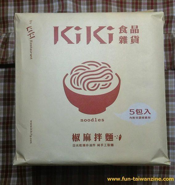 KIKI麺‐椒麻拌麺 外装