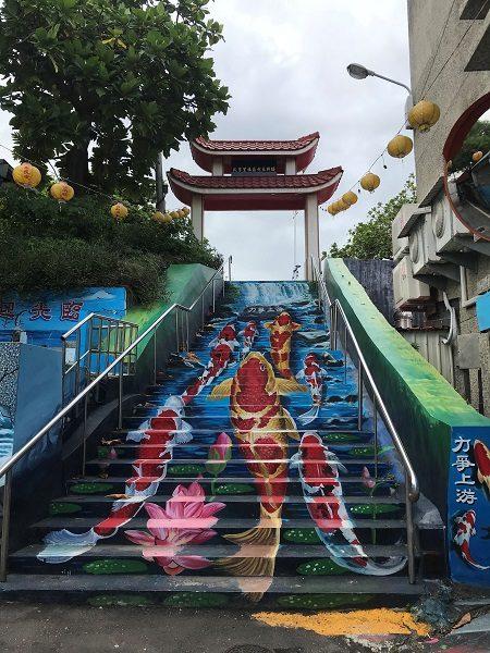 花蓮 鯉のお寺