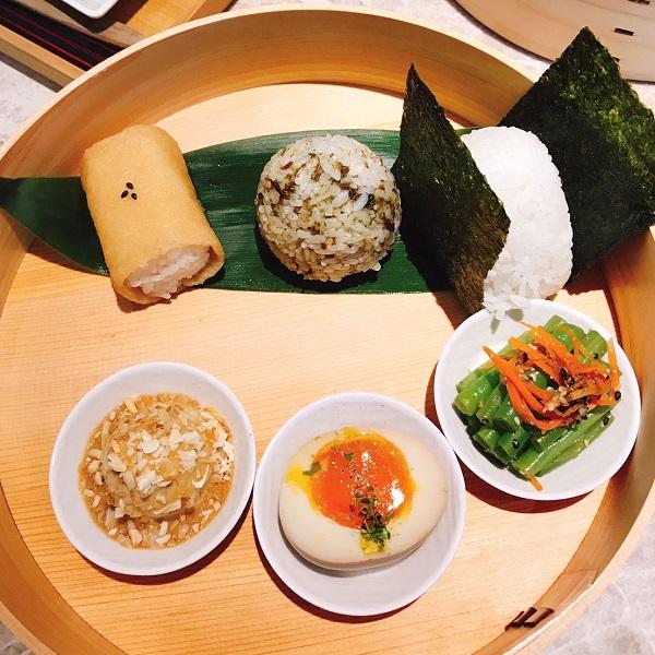 Cafe de Riz 米販咖啡 デラックスおにぎりセット(飯糰套餐) 330元