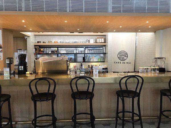 Cafe de Riz 米販咖啡 カウンター席