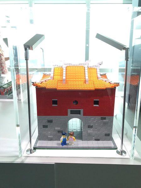 台北101 レゴ展 北門