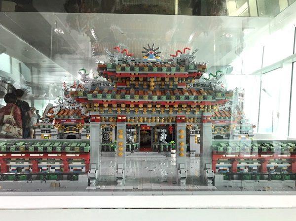 台北101 レゴ展 龍山寺