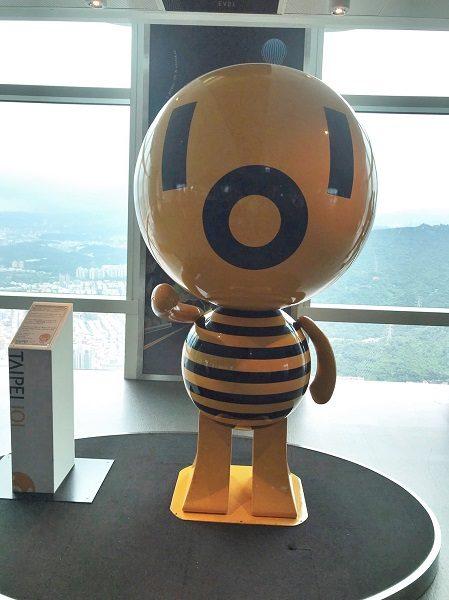 台北101 展望台 ダンパーベイビー