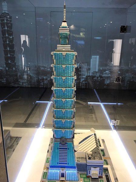 台北101 レゴ展 レゴの台北101