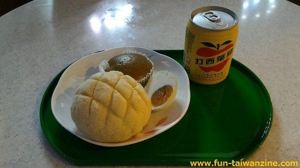 桃園空港 エバー航空ラウンジ「Infinity」 食事