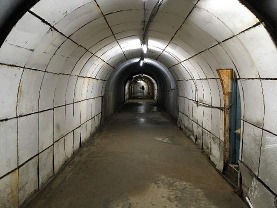 高雄軍事遺址(鼓山洞防空壕) 入口からの一枚