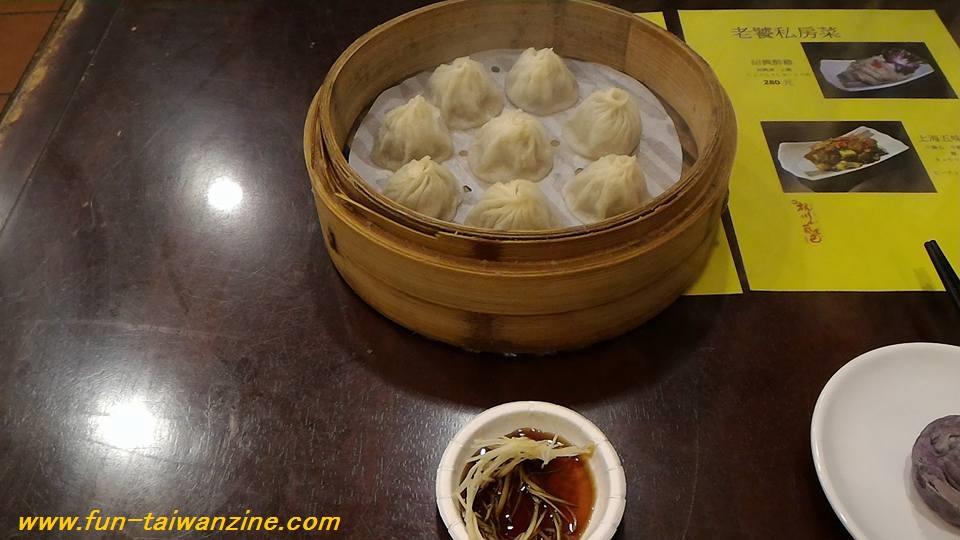 台北の杭州小籠湯包の小籠包が安くてウマい!