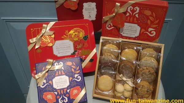 ステラおばさんのクッキー台湾限定 春節パッケージ