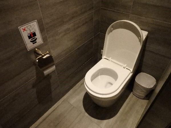 シティスイーツ 高雄駁二館 トイレも申し分なし