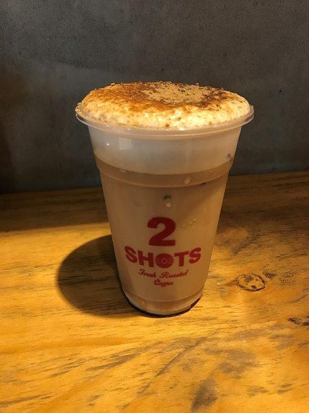 黒糖ラテ(黒糖拿鐵) 75元 TWO SHOTS COFFEE 東門店