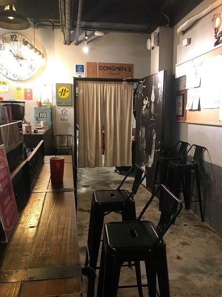 TWO SHOTS COFFEE 東門店 ドリンクインスペース