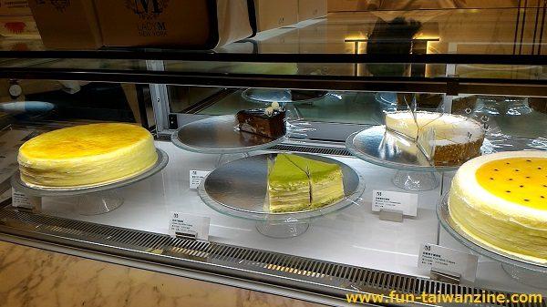 台北LADY Mリージェントホテル(晶華酒店) 抹茶ミルクレープ