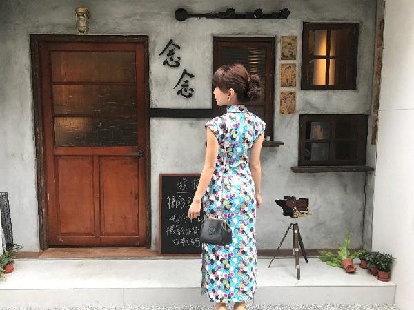 台北の念念留影館でチャイナドレスをレンタルして迪化街を散策してみた