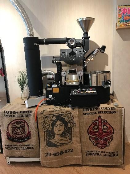 CAFE FUGU Roasters 本格コーヒーマシン