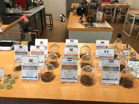 CAFE FUGU Roasters 各国のコーヒー豆