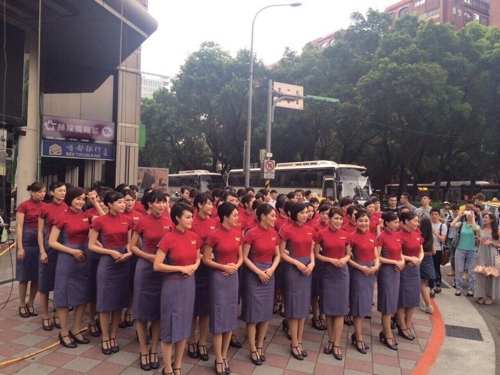 2015華航新制服 チャイナエアライン新制服