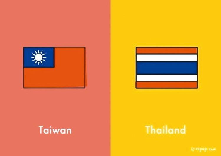 間違えないで!台湾とタイはこんなに違う!10枚の絵にまとめました