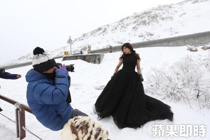 帝王級大寒波襲来!台湾の雪景色をご覧ください合歡山