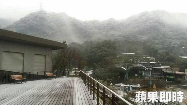 帝王級大寒波襲来!台湾の雪景色をご覧ください貓空