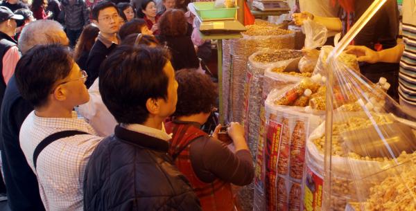 台北の年貨大街