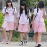 台湾で最も可愛いJC制服はこれだ!ピンクのセーラー服が実にけしからん!