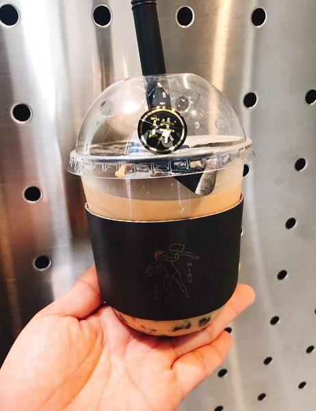 拗不過 NIOU TEA 阿膠黑糖珍珠奶茶(黒糖タピオカミルクティー) 135元