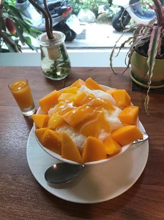 台北のマンゴーかき氷店「GomanMango」、インスタで大人気!