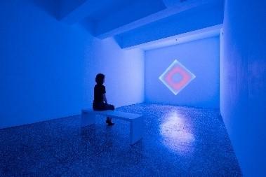 金馬賓館・當代美術館(ALIEN ART CENTRE) 青い部屋