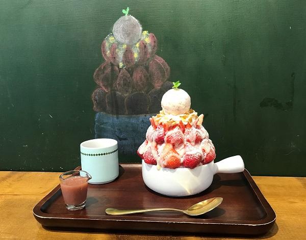 高雄のかき氷店「B.tod 冰塔」。200元で果物も氷もたっぷり!