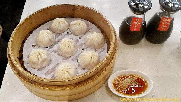 台北の金品茶樓で小籠包を食べてみた