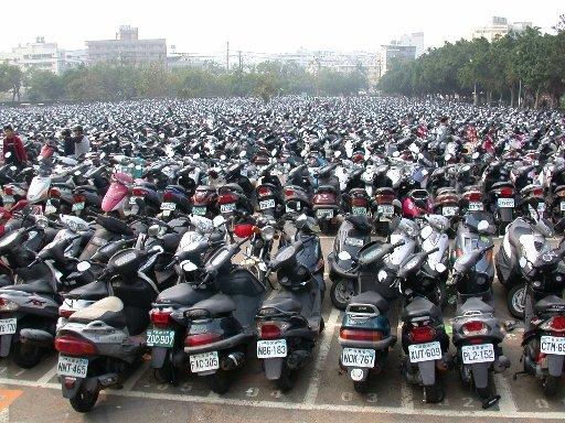 台湾にバイクが多い5つの理由。地理的要因と生活環境が影響していた!