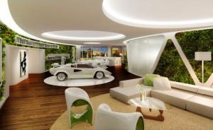 「陶朱隠園」は台北の超高級億ションで部屋の中に車を置けるらしい
