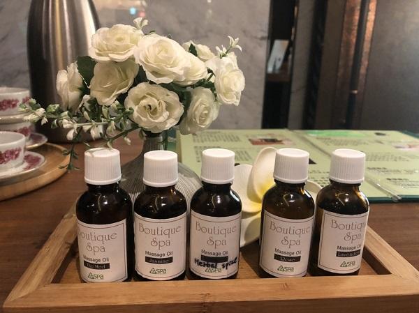 森SPA足体養生会館 まずは、好きな香りのアロマを選びます