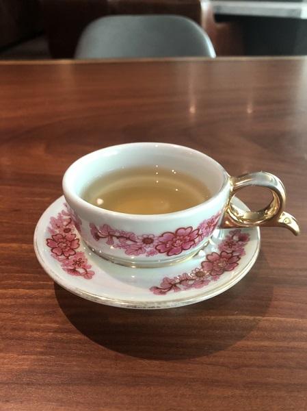 森SPA足体養生会館 お茶を頂きました