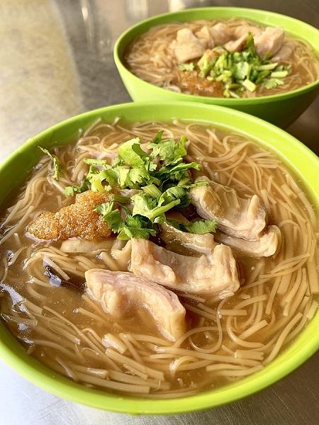 台湾B級グルメの「パクチー入り麺線」